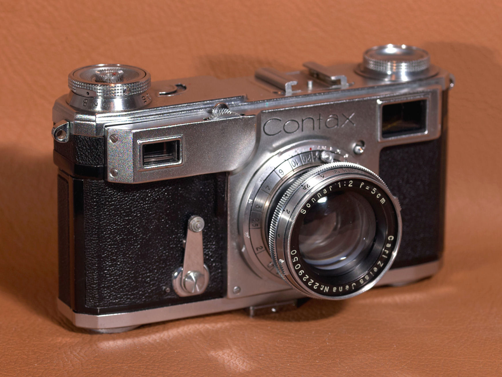 The Zeiss Ikon Contax Camera Repair Website - The Contax II