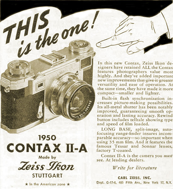 IIa advertisement